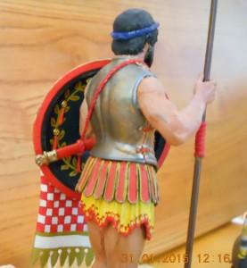 16013 GREEK HOPLITE. IV CENTURY B.C.