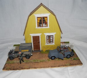 35517 POLISH VILLAGE HOUSE + 35548 FURNITURE SET + 35539 VILLAGE ACCESSORIES