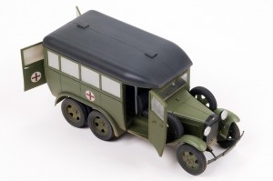 35164 GAZ-05-194 AMBULANCE