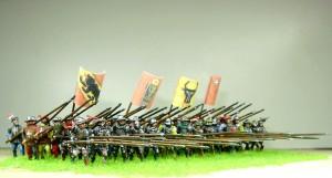 72006 BURGUNDIAN MOUNTED KNIGHTS. XV CENTURY + 72008 ITALIAN KNIGHTS. XV CENTURY + 72009 SWISS INFANTRY. XV CENTURY
