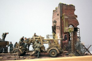 36053 RUINED FACTORY w/BASE