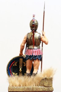16014 ATHENIAN HOPLITE. V CENTURY B.C.