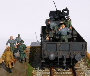 35029 GERMAN ARTILLERY CREW