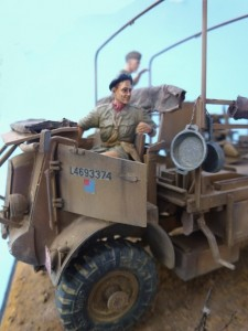 35051 BRITISH JEEP CREW + 35069 BRITISH ARMORED CAR CREW