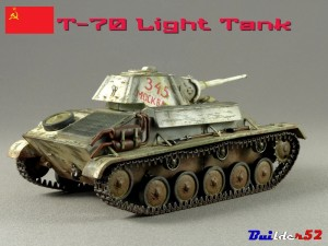 35113 T70M Soviet Light Tank Special Edition