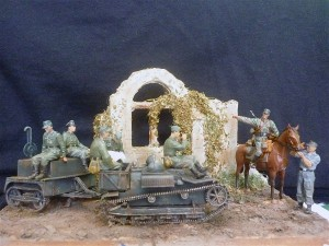 35040 GERMAN ARTILLERY CREW RIDERS + 35008 GERMAN SELF-PROPELLED GUN CREW