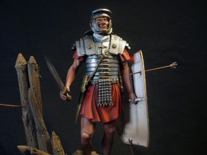 16005 ROMAN LEGIONARY. I CENTURY A.D.