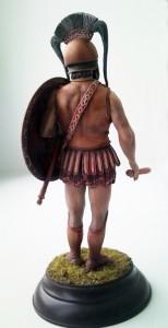 16012 SPARTAN HOPLITE. V CENTURY B.C.