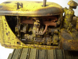 35174 U.S. TRACTOR D7N w/TOWING WINCH D7N