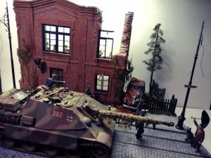 36026 RUSSIAN STREET + 35548 FURNITURE SET