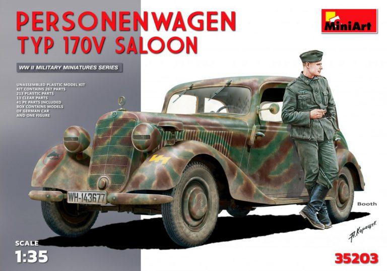 35203 Personenwagen TYP 170V SALOON
