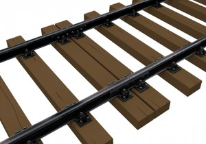 3D renders 35561 RAILWAY TRACK. EUROPEAN GAUGE
