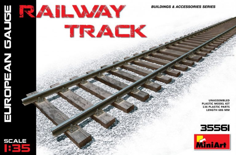 35561 RAILWAY TRACK. EUROPEAN GAUGE