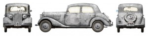 Side views 35203 Personenwagen TYP 170V SALOON