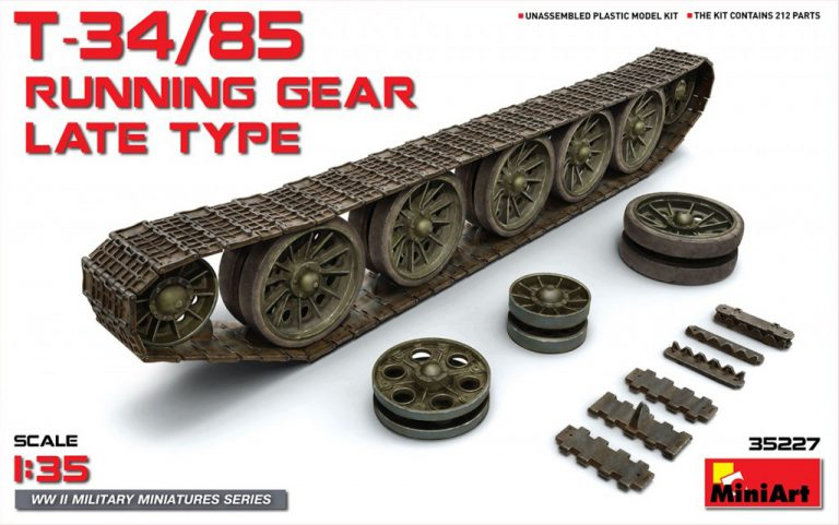 35227 T-34/85 RUNNING GEAR LATE TYPE