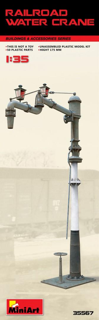 35567 RAILROAD WATER CRANE