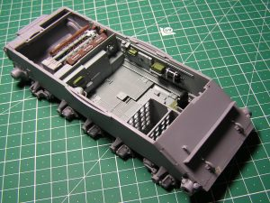 Build up 37003 T-54-1 SOVIET MEDIUM TANK. INTERIOR KIT
