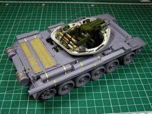 Build up 37003 T-54-1 SOVIET MEDIUM TANK. INTERIOR KIT