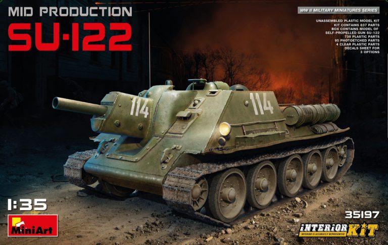 35197 SU-122 MID PRODUCTION. INTERIOR KIT