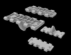 3D renders 35207 НАБОР РАБОЧИХ  ТРАКОВ для T-34/85