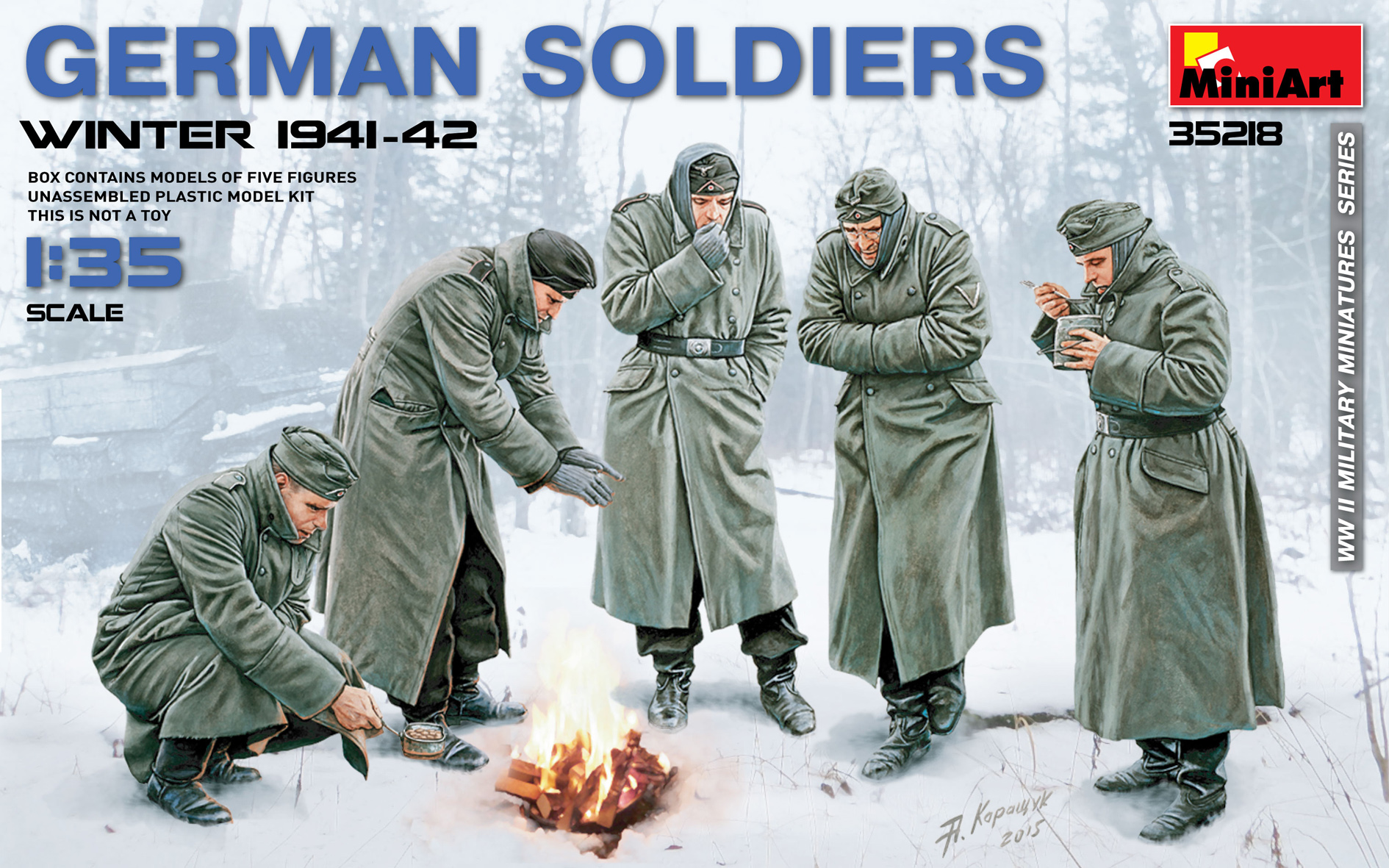 35218 GERMAN SOLDIERS (WINTER 1941-42)