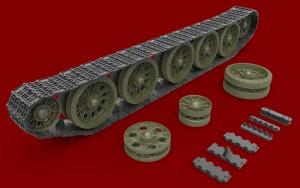 3D renders 35227 T-34/85 RUNNING GEAR LATE TYPE