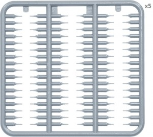 Content box 35235 WORKABLE TRACK LINKS SET FOR Pz.III / Pz.IV EARLY TYPE