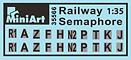 35566 RAILWAY SEMAPHORE