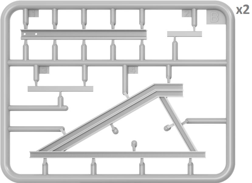 35568 線路&車止めセット(ヨーロッパゲージ)