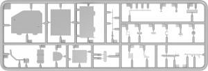 Content box 37003 T-54-1 SOVIET MEDIUM TANK. INTERIOR KIT