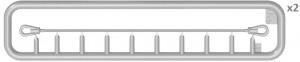 Content box 37003 T-54-1 СОВЕТCКИЙ СРЕДНИЙ ТАНК. с Интерьером