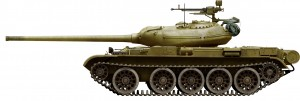 Side views 37003 T-54-1 SOVIET MEDIUM TANK. INTERIOR KIT