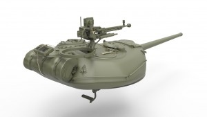 3D renders 37003 T-54-1 СОВЕТCКИЙ СРЕДНИЙ ТАНК. с Интерьером