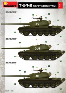 Content box 37004 T-54-2 Mod. 1949 SOVIET MEDIUM TANK