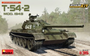37004 T-54-2 Mod. 1949 SOVIET MEDIUM TANK Miniart