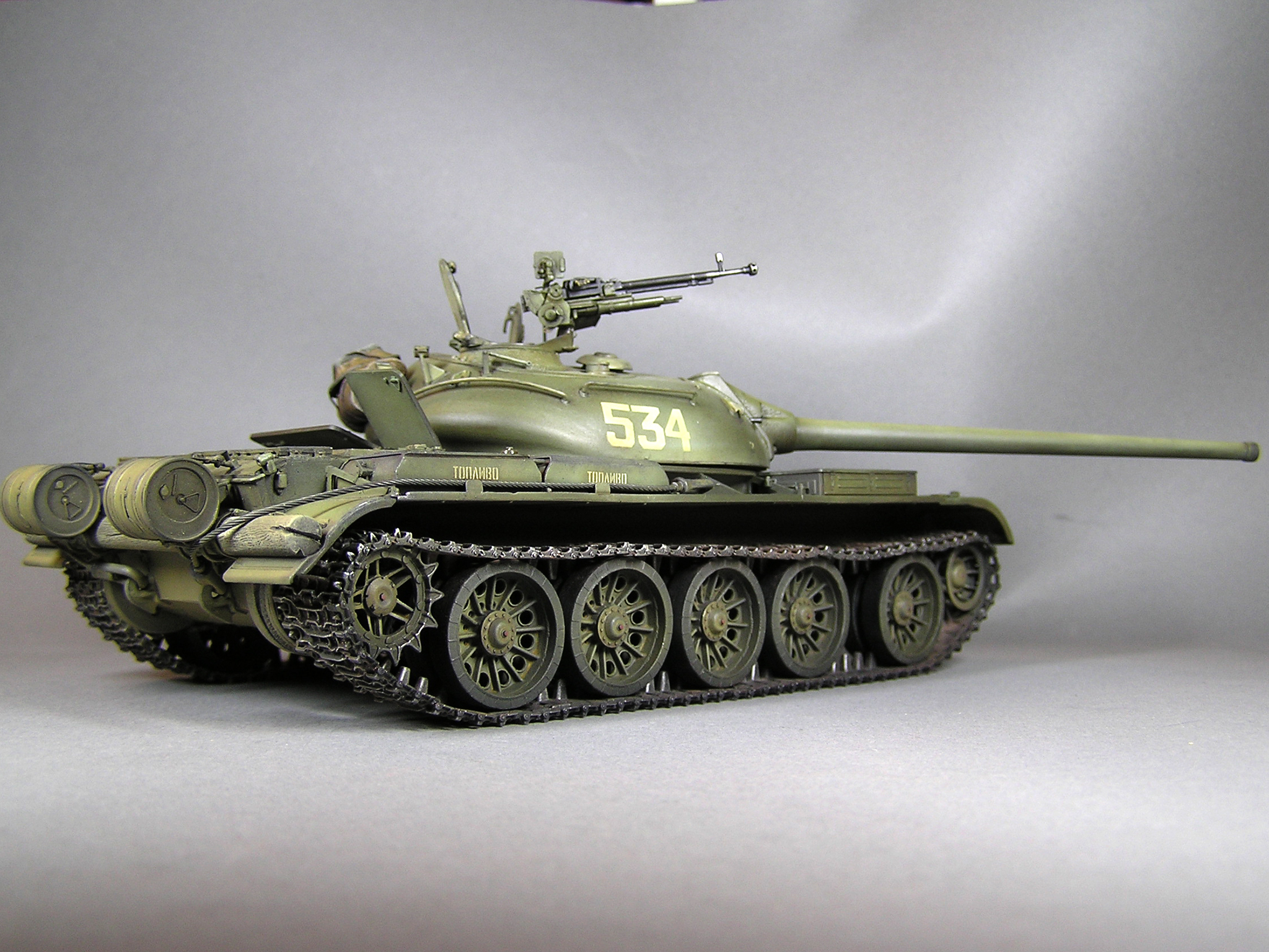 37004 T-54-2 Mod. 1949 SOVIET MEDIUM TANK. INTERIOR KIT
