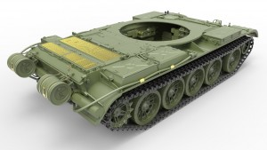 3D renders 37004 T-54-2 Mod. 1949 SOVIET MEDIUM TANK