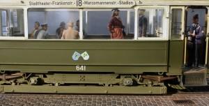 Photos 38009   ヨーロッパ路面電車<路面ベース付>付属フィギュア関連