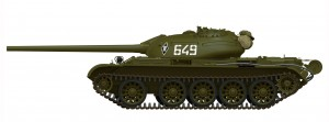 Side views 37004 T-54-2 Mod. 1949 SOVIET MEDIUM TANK