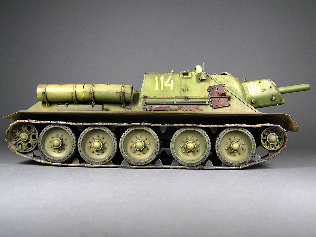 35197 SU-122 MID PRODUCTION. INTERIOR KIT