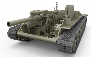 3D renders 35197 SU-122 MID PRODUCTION. INTERIOR KIT