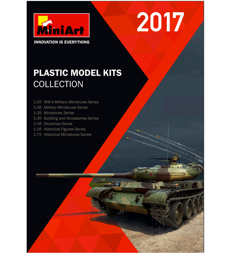 MiniArt's Catalogue 2017