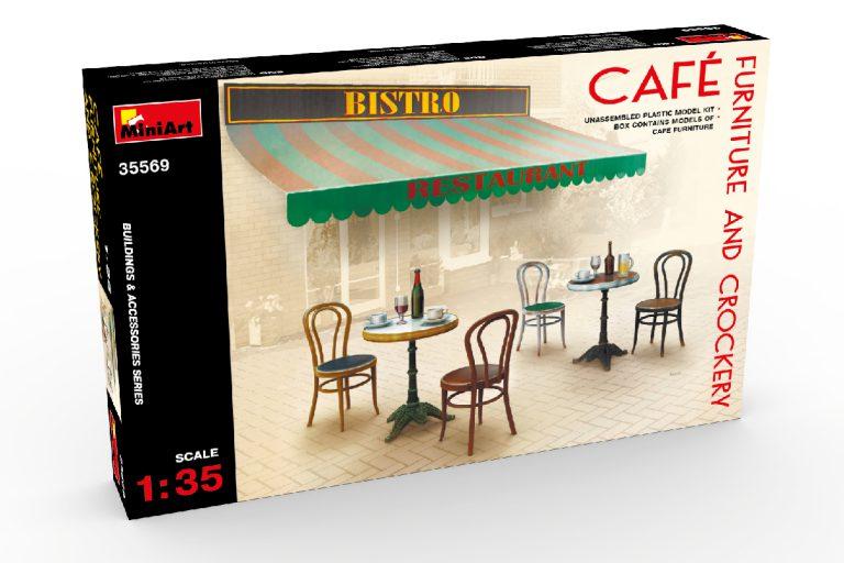 35569 CAFé FURNITURE & CROCKERY