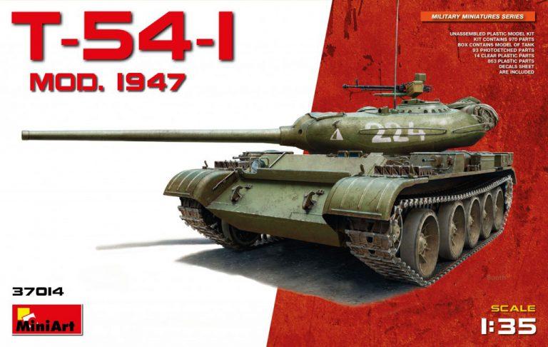 37014 T-54-1 SOWJET MEDIUM TANK Mod.1947