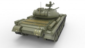 3D renders 37014 T-54-1 SOWJET MEDIUM TANK Mod.1947