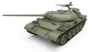 3D renders 37014 T-54-1 SOVIET MEDIUM TANK Mod. 1947