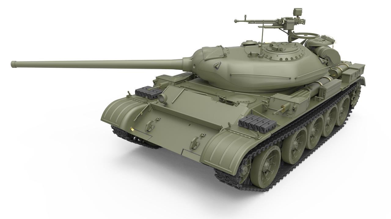 37014 T-54-1 СОВЕТCКИЙ СРЕДНИЙ ТАНК Обр. 1947 г.