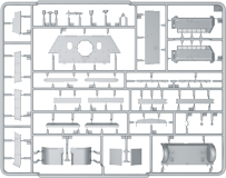 Content box 35197 SU-122 MID PRODUCTION. INTERIOR KIT