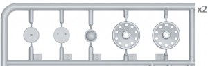 Content box 35239 T-34 车轮组 1942-43系列