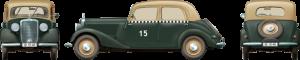 Side views 38008 Deutsch Fahrzeugtyp 170V 4-türige Limousine